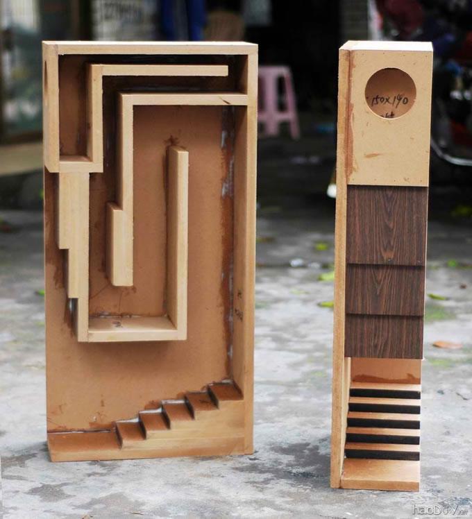 4寸全频喇叭原厂设计图纸音箱