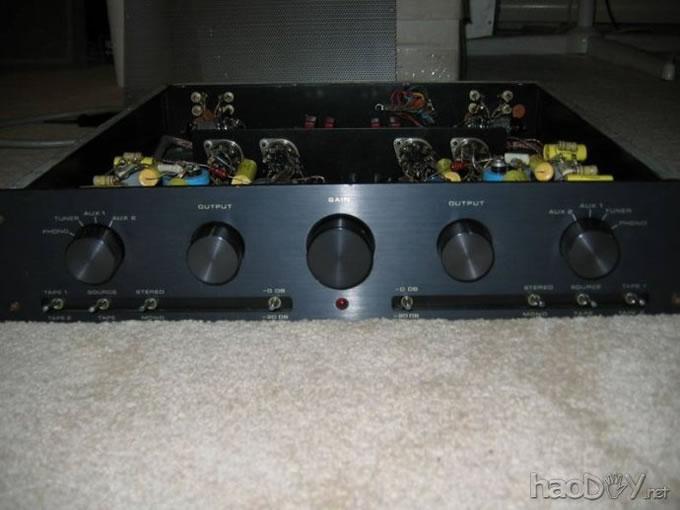 电子管mfa胆唱放(唱头放大器)&前级diy记